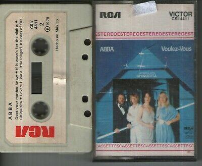 ABBA Voulez-Vous Mexican Edition CASSETTE