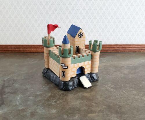 Miniature Dollhouse Castle Play Toy Wood 1:12 Scale Nursery