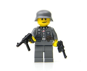 Custom LEGO German Soldier WWII minifig army builder