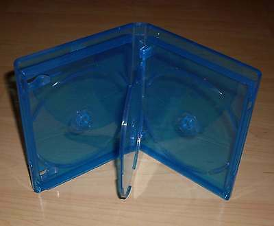 Blu Ray Hülle Vierfach 4fach 4-fach blau Blu-Rays Blue Ray 4er 4 Neu