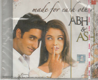 made For each Other - Abh & Ash  [Cd] Hits of Aishwaria rai & Abhishek Bachchan, used for sale  Shipping to India