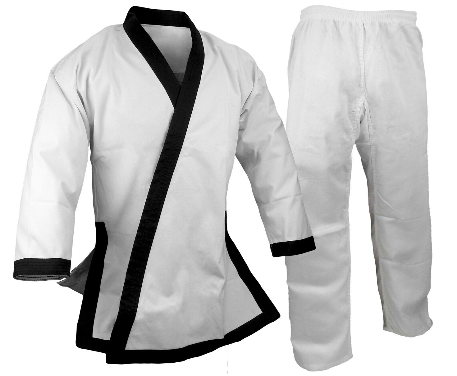 8.5OZ SUPER MIDDLEWEIGHT TOPS WITH FULL TRIM Tang Soo Do b6400