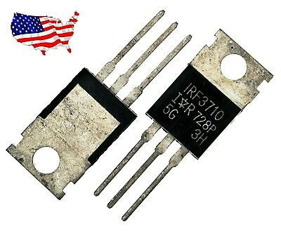 Irf3710 10 Pcs 57a 100v To-220ab Power Mosfet - From Usa