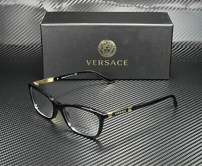 VERSACE VE3186 GB1 Black Demo Lens 54 mm Women's Eyeglasses