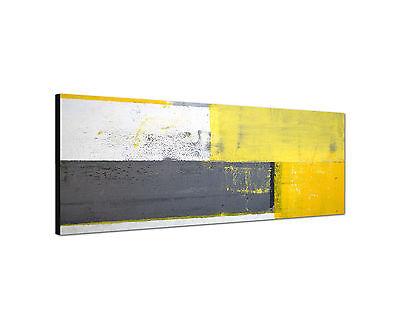 Panoramabild -150x50cm abstrakte Malerei Kunstdruck auf Leinwand modern