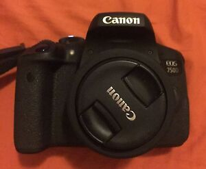 Canon EOS 750D with lenses, tripod, case and more Greenslopes Brisbane South West Preview