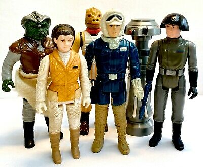 VINTAGE STAR WARS ACTION FIGURES KENNER ORIGINAL 1977-1983 VERY COLLECTABLE