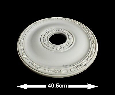 40.5cm Diameter, Lightweight Ceiling Rose (made of strong resin not polystyrene)