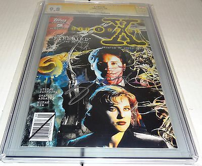 X-Files #5 CGC SS 9.8 Signature Autograph DAVID DUCHOVNY Signed Topps Comics 🔥
