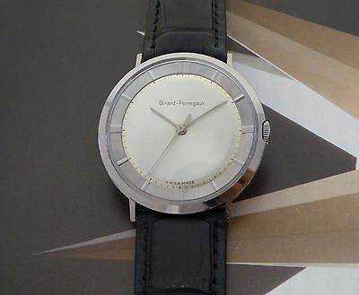 Vintage Men's Girard Perregaux Manual Wind Wristwatch 17 Jewels 1 Year Warranty