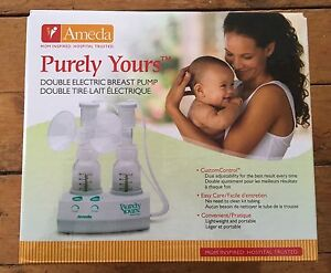 Ameda Purely Yours breast pump Cambridge Kitchener Area image 1