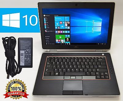 DELL LATITUDE E6420 LAPTOP WINDOWS 10 DVDRW CORE i5 4GB RAM 1TB HDD  WIFI WEBCAM