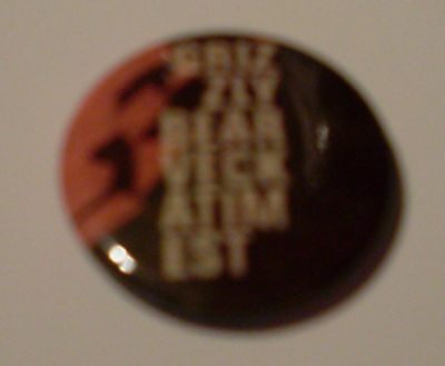 Grizzly Bear Button Veckatimest Pin Anstecker