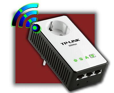 TP-LINK TL-WPA4230P AV500 POWERLINE NETZWERKADAPTER REPEATER 300Mbps
