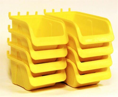 NEW Pegboard Bin Kits Parts Storage Craft Organizer Tool Workbench Accessories