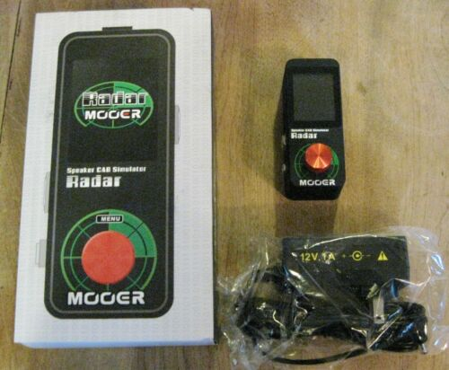 Mooer Radar Speaker Cab Simulator - 30 Speaker Cabinet Models - Ships from US