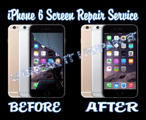 Iphone 6 Broken Cracked Glass Digitizer Lcd Screen Repair Service
