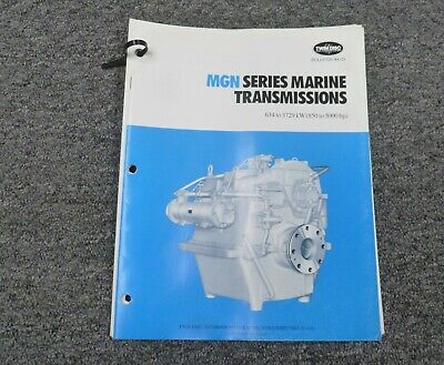 Twin Disc Mgn-2625h Transmission Assembly Dimensional Specifications Manual