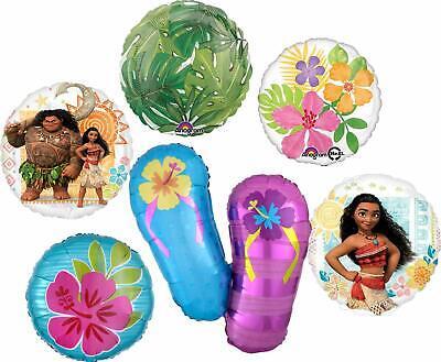 Balloon Flip Flops (Moana Party Supplies Flip Flops Beach Birthday Balloon Bouquet)