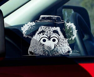 Fozzie-Bear-Car-Window-Sticker-The-Muppet-Show-Fozzy-Peeper-not-TShirt