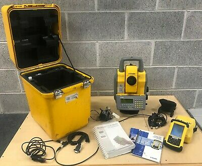 Trimble 5605 Total Station With Geodimeter Cu Recon Data Collector