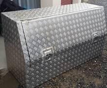 Aluminium chequerplate toolbox 1500mm x 800mm x 550mm Coromandel Valley Morphett Vale Area Preview