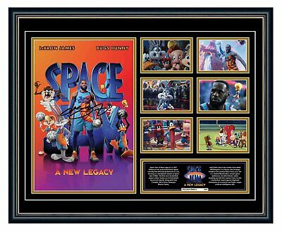SPACE JAM: A NEW LEGACY LOONEY TUNES SIGNED LIMITED EDITION FRAMED MEMORABILIA