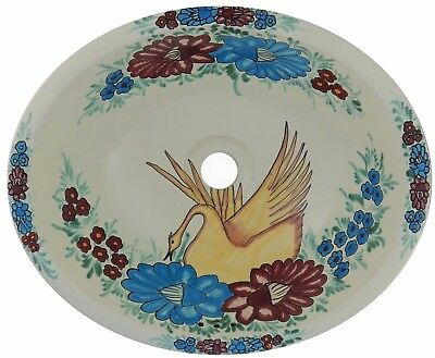 Mexican Bathroom Sink Handmade Consent Sale Drop in  2-5 Days Delivery #168
