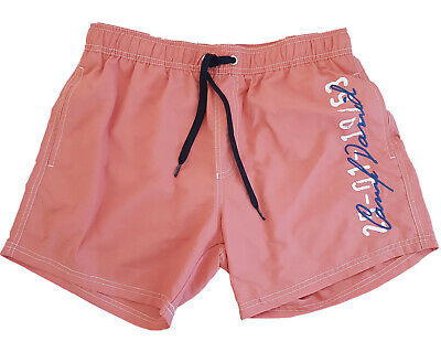 CAMP DAVID Herren Badeshorts Badehose Swim Shorts koralle XXL