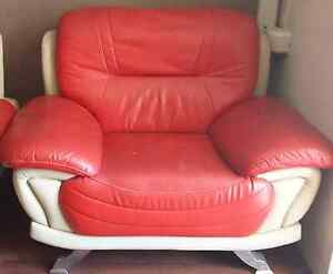3 Piece leather Sofa set Westmead Parramatta Area Preview