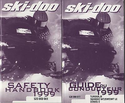 manuals ski doo skandic trainersme 1999 ski doo tundra skandic snowmobile operator s guide french only 238