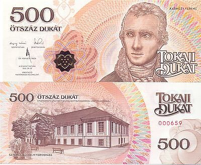 Ungarn / Hungary - 500 Dukat 2016 UNC - local currency