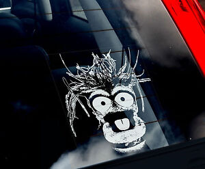 Pepe-Car-Window-Sticker-The-Muppet-Show-Peeper-The-King-Prawn-not-T-Shirt