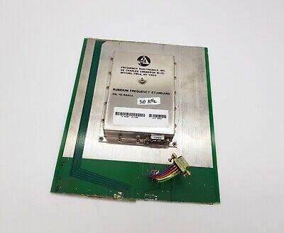 Frequency Electronics Fe-5680a 310khz Rubidium Frequency Standard