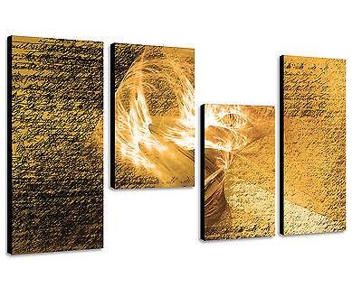 130x70cm Paul Sinus Art edles Leinwandbild zur Verschönerung ihrer Wände modern