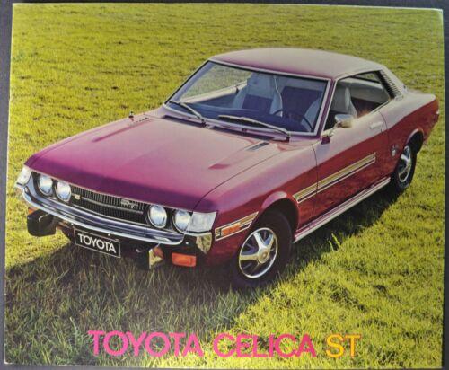 1973 Toyota Celica ST Coupe Catalog Brochure Excellent Original 73 Canadian
