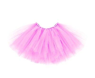 Tütü Tutu Ballettrock Tüllrock 3 Lagen Petticoat Ballettkleid - Rosa Tutu Ballett