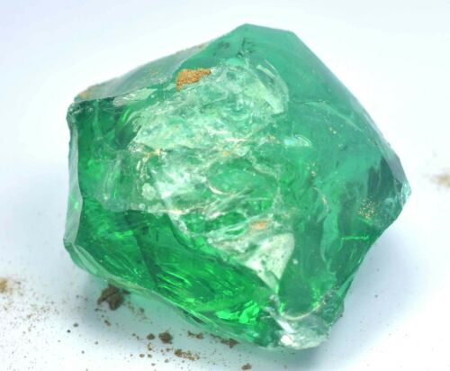 AAA+  Top Quality 634.00 Crt Natural Green Colombian Emerald  Loose Rough - 677