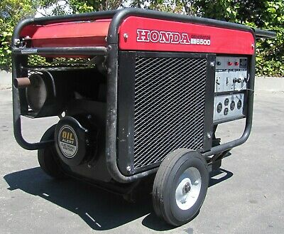 Honda Es6500 Portable Gas Generator Es 6500 Watt 12 Hp 120240v