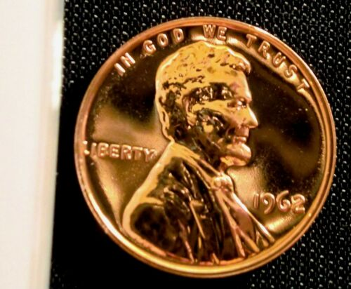 1962 1C RD (Proof) Lincoln Cent