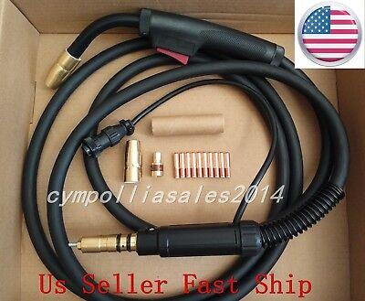 Us Seller Mig Welding Gun 10 150amp Millermatic Ironman 210 Beta Mig 1800