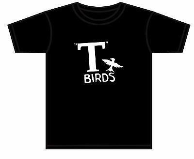 - GREASE T BIRD T-SHIRT T-BIRD PINK LADIES RYDELL HIGH SCHOOL TSHIRT NEW 0-4 YEARS