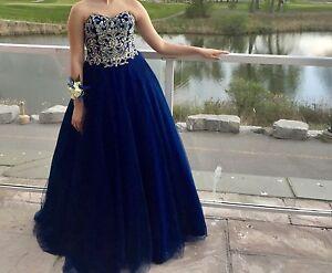 Brand new princess prom dress