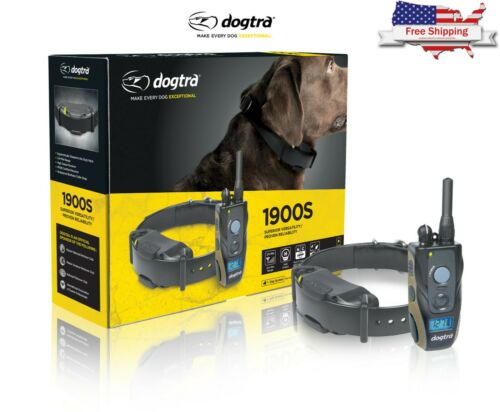 Dogtra 1900S Training Collar with Remote 3/4 Mile Range High Output Trainer