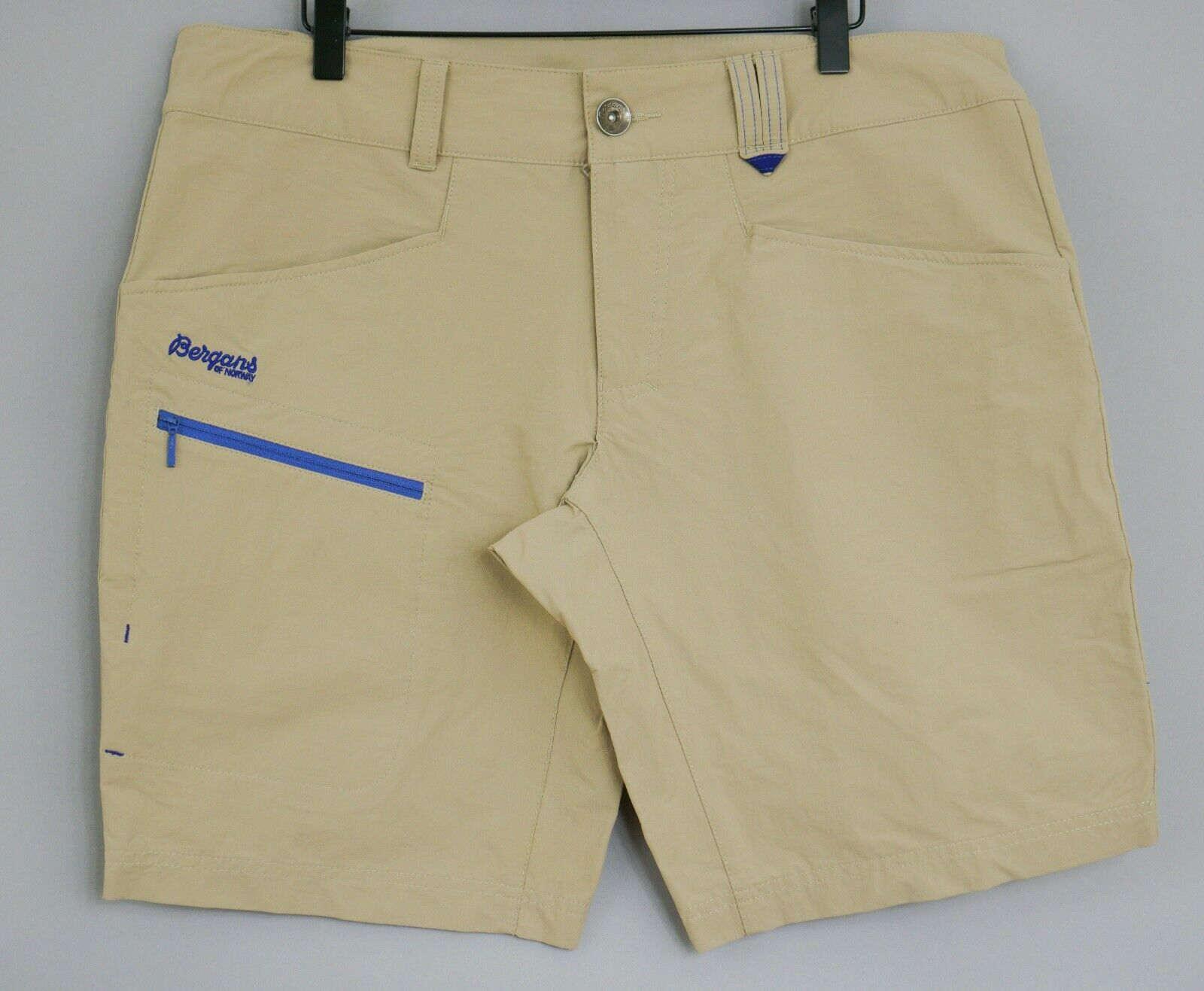 282a9840d Details about Women Bergans Of Norway Shorts 7179 Utne Lady Beige Hiking  Camping L W36 VBA655