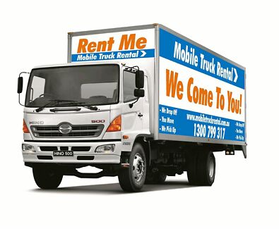 Moving truck hire