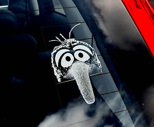 Gonzo-Car-Window-Sticker-The-Muppet-Show-Peeper-not-TShirt