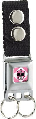 Pink Power Ranger Belt Buckle (Key Chain Seat Belt Buckle Power Rangers Pink)