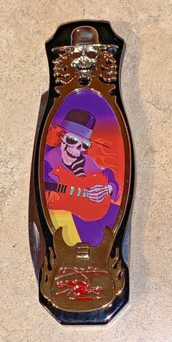 "Grateful Dead ""One More Saturday Night"" Knife w/Stanley Mouse Artwork -ICS NEW"