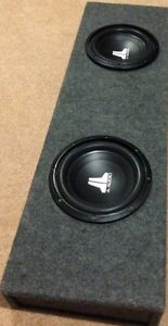 2 X JL AUDIO 10W0V3-4 SUBS for sale